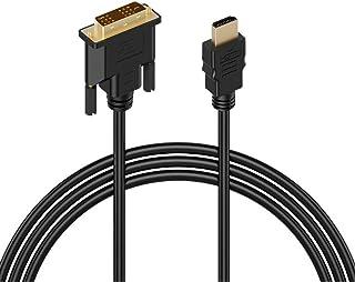 MMOBIEL High Speed DVI-D Dual Link naar HDMI Kabel (1,8 meter) Compatibel met LCD's en LED Monitoren