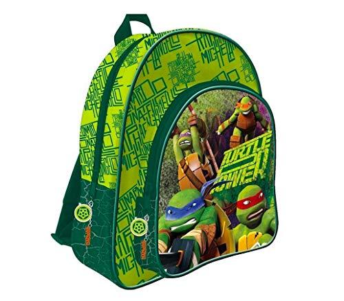 Teenage Ninja Mutant Turtles Schulrucksack Rucksack Tasche Schulranzen mit Sticker von Kids4shop