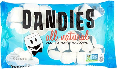 Dandies - Vegan Marshmallows, Vanilla, 10 Ounce (Pack of 2) by Dandies