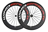 Best Carbon Wheelsets - WINDBREAK BIKE 88/23mm Carbon Bicycle Clincher Wheelset 700c Review