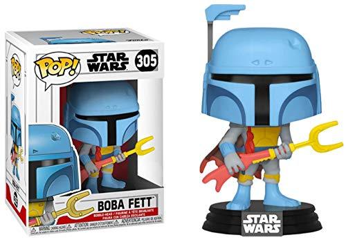 POP Funko Star Wars 305- Boba Fett Animated