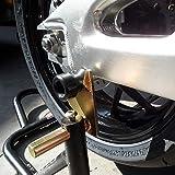 Shogun Honda Swing Arm Swingarm Spools Black 8mm 1.25 CBR600RR CBR954 RC51 CBR1000RR Suzuki GSXR600 GSXR750 GSXR1000 GSX1300R SV650/S SV1000/S TL1000 GSX-S1000/F KATANA - 701-0309 - MADE IN THE USA