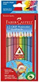 Faber-Castell Grip Watercolor EcoPencils - 12...