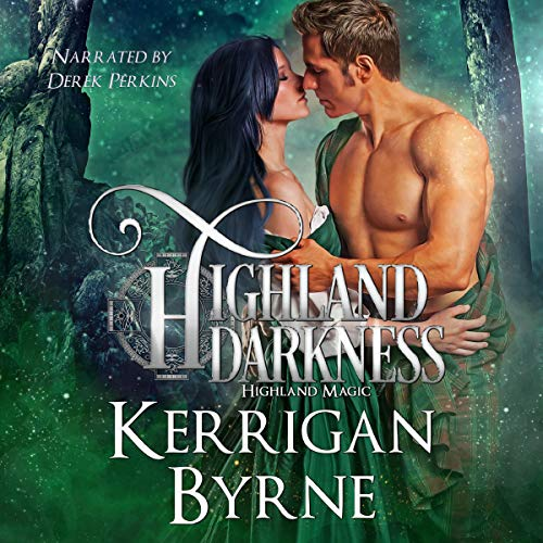 Highland Darkness audiobook cover art