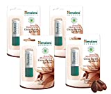 Himalaya Intensive Moisturising Cocoa Butter Lip Balm, Free from Petroleum and Artificial Color 4.5gm, (4 pack)