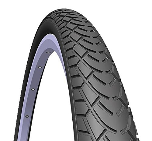 Rubena/Mitas MORSA x1 – Bicicleta Unisex, Color Negro, Tal