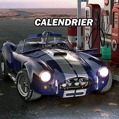 Vintage Ac Cobra Calendrier 2021 Agenda hebdomadaire