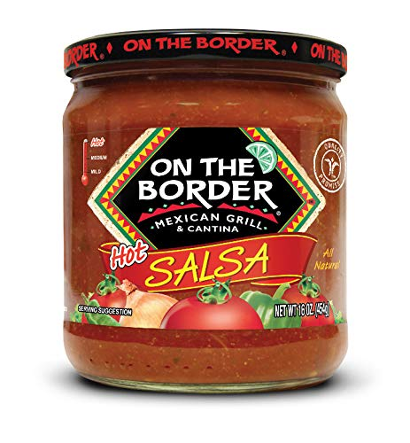 On The Border Original Hot Salsa, 8 Count