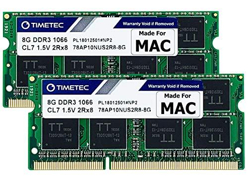 macbook pro 8gb ram fabricante Timetec