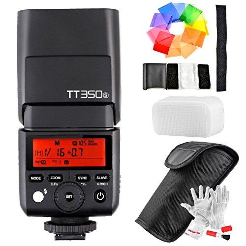 【Godox正規代理店&技適マーク付き】Godox TT350S ミニフラッシュ 2.4G HSS 1 / 8000s TTL 0.1〜2.2秒リサ...