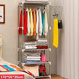 LESHARED Soporte de Piso Creativo Perchero Rack Door Rack de ...