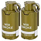 DoxiGlobal CS Grenade Toys Tactical Toy Grenades Hand Rival Battle Game Refill Water Beads BB Shower Rival Crystal Water Bullets Gift Toy for Kids Teens Boys Girls (2pcs)