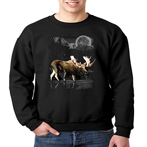 Men's Sweatshirts With Wildlife Design