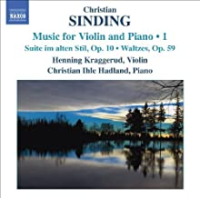Music for Violin & Piano 1 by CHRISTIAN SINDING (2009-09-29)