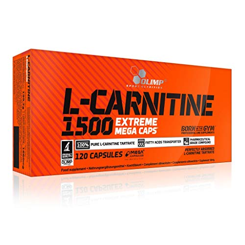 3 x Olimp L-Carnitine 1500, 120 Mega Caps (3er Pack)