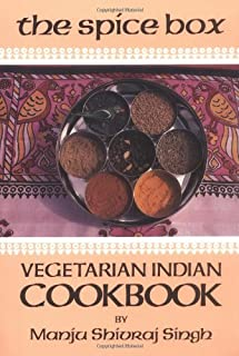 The Spice Box: A Vegetarian Indian Cookbook (Vegetarian Cooking)