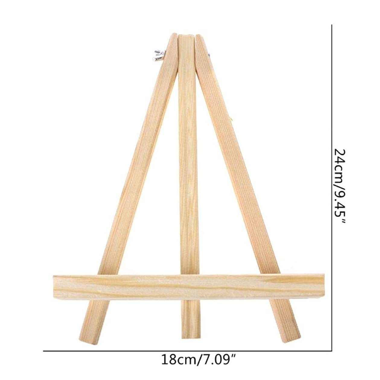 誰が素晴らしいですシットコムWANGSENO 18×24センチミニアーティスト木製イーゼル結婚式のテーブル