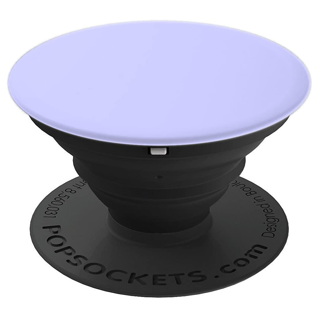 Periwinkle Light Purple - Solid Color Series - PopSockets Grip and Stand for Phones and Tablets