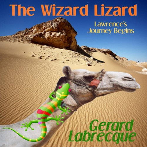 The Wizard Lizard audiobook cover art