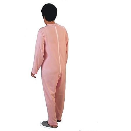 Rekordsan - Pijama Antipañal Geriátrico de Algodón para Mujer ...