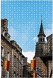 Rompecabezas de madera 500 piezas Ruinas antiguas del Foro Romano en Roma Italia Rompecabezas de mesa divertidos y desafiantes Juego Juguetes Regalo Decoración para el hogar-Puzzle8