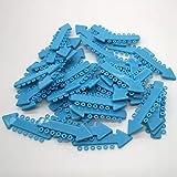 Sino Dental Group Orthodontic Braces Bracket Ligature Ties Colorful V Ties For Braces 1040pcs/Pack Short (Blue)
