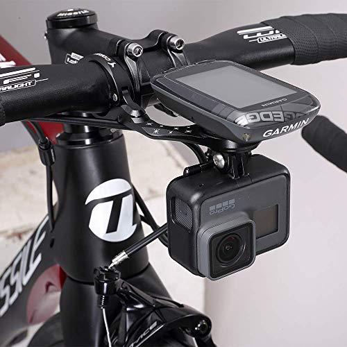 TedKat Out Front Combo Fahrradhalterung für Garmin Edge 200, 500, 510, 520, 800, 810, 820, 1000 und Gopro Kamera (Garmin Mount 2) - 5
