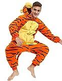 Tigger Onesie For Adult Men Women. Tigger Costume (M/L)
