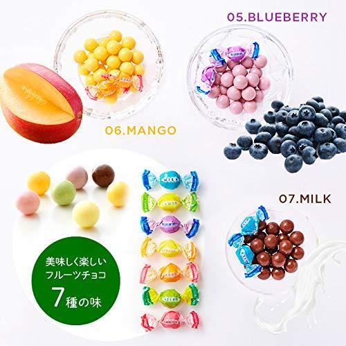 『新宿高野 フルーツチョコレート5入EA (ギフト セット) 贈り物 [ハロウィン/クリスマス/内祝い] 7種類のフルーツ 5袋入り』の3枚目の画像