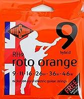 ROTOSOUND ROT-RH9 Roto Orange Hybrid Lt エレキギター弦×12SET
