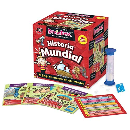 Brain Box Juego de Memoria Historia del Mundo, Multicolor (31693417A)