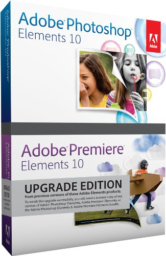 Adobe Photoshop Elements and Premiere Elements 10 Bundle, upgrade version [import anglais]
