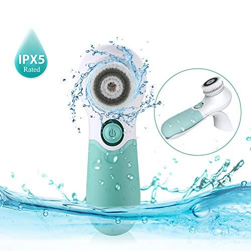 Bild des Produktes 'TOUCHBeauty Gesichtsreinigungsbürste, IPX6 Wasserdicht 360° Rotierende Mit Rutschfestem Griff Elektrische Gesichtsmassage Peeling Bürste TB-1483'