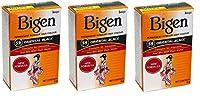 Bigen パウダーヘアカラー#59オリエンタルブラック0.21Oz(3パック) 0.21オンス(3パック) オリエンタルブラック