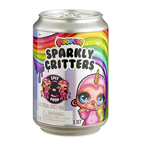 Poopsie Sparkly Tiere, die auf magische Weise Schleim-Häufchen hinterlassen und Schleim ausspucken Limited Edition