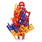 Chairs stacking tower balancing game 24 chair toys set ,balancing toys for preschoolers (24PCS)