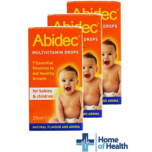 Abidec Multivitamin Drops for Children and Babies- 3 Pack