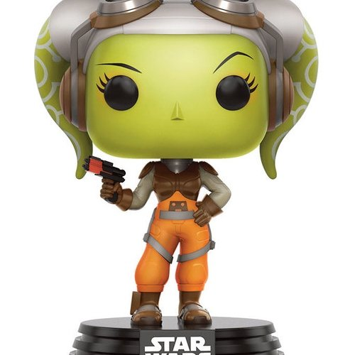 Funko- Pop Bobble Star Wars Rebels Hera, 10774