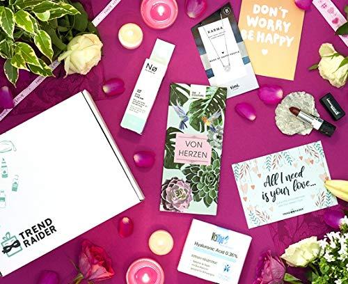 BestFriendsBox TrendBox, vegan, Geschenkset, GeschenkBox zum Geburtstag, 6 Produkte aus Deutschland