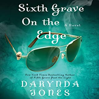 Sixth Grave on the Edge audiobook cover art