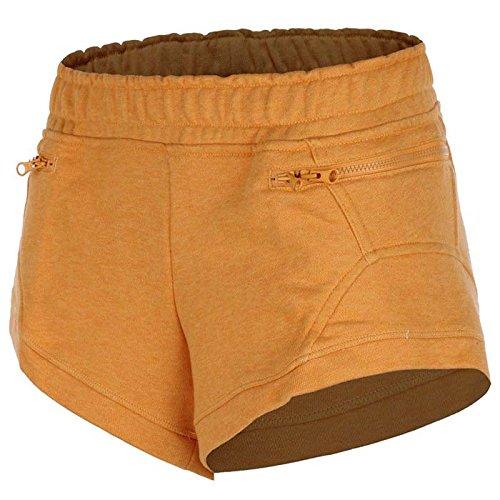 adidas by Stella McCartney YO Knit Shorts Short Broek Dames Fitness Oranje