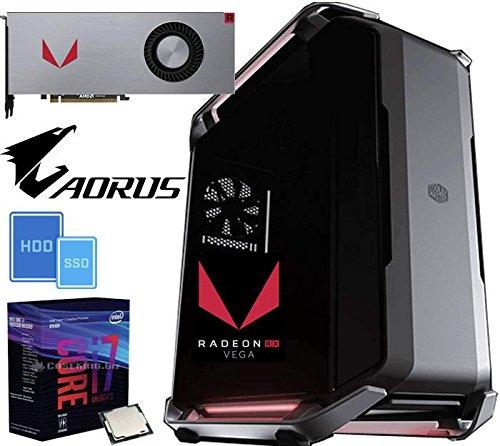 PC Gaming EXTREME RX1 Intel Core i7-8700K 3.7GHz/12MB(6CORE)/LIQUID+32GB+(4.50TB) M.2 500 SSD/EVO960+4.0TB+RX VEGA64/8GB+Z370 221014