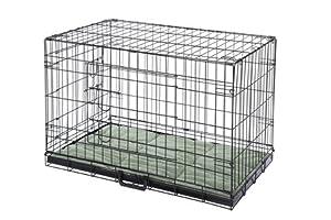 Cage pour chien Confidence, cage de luxe pour animaux domestiques avec lit et 2 portes