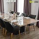 Originale Tischdecke Tischfolie hochglanz abwaschbar nach Maß 140 x 90 cm (in allen Größen erhältlich) +