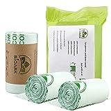N-B 50/100/150pc cocina ecológicamente biodegradable basura compostable bolsas de basura degradables bolsas de basura casa residuos de alimentos uso de almacenamiento
