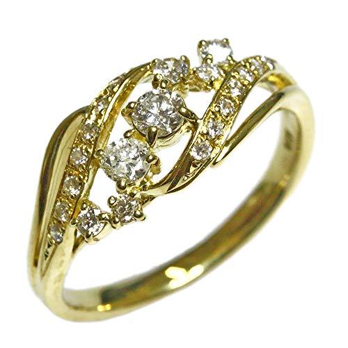 キュービックジルコニア リング ジュエリー シルバー925 ピンク イエロー ホワイトコーテイング 指輪 コンビ リング レディース 指輪 ファッションリング 4月誕生石 ピンクゴールドコーテイング,07号