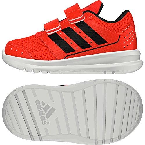 adidas LK Sport 2 CF I, Zapatos de Primeros Pasos Bebé-Niños, Rojo (Rojsol/Negbas/Ftwbla), 20