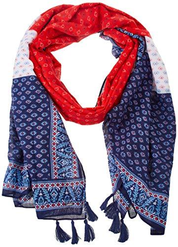 Pepe Jeans Damen Julia Scarf Modisches Halstuch, 244MARS RED, Einzelne Größe