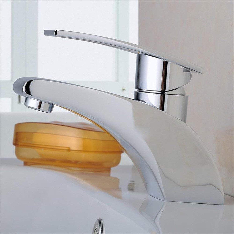 Oudan All Copper Faucet Mixing Faucet Plumbing Basin Mixer Simplex Formula (color   -, Size   -)