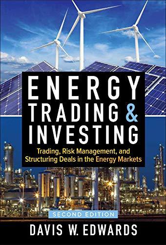 Edwards D: Energy Trading & Investing: Trading, Risk Managem